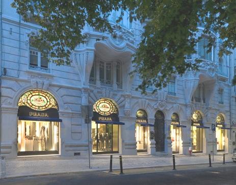 Prada shop Lisbon
