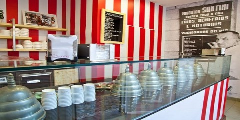 santini gelati gelados estoril chiado best ice cream portugal