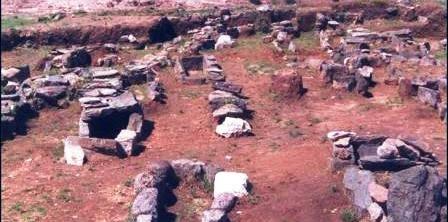 Medieval Cemetery Barreiras Fao Portugal