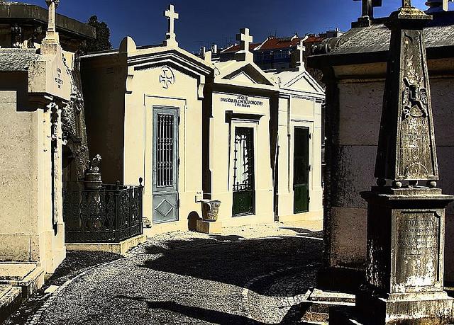 Prazeres cemetery cemiterio Lisbon