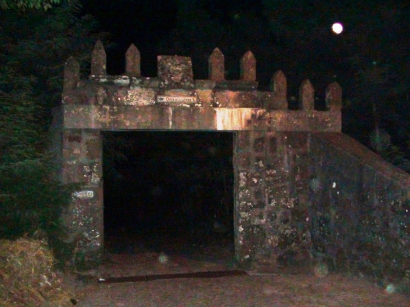 Entrance to Quinta da Juncosa haunted portugal