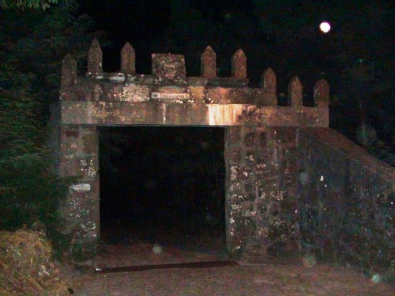 Entrance to Quinta da Juncosa haunted portugal