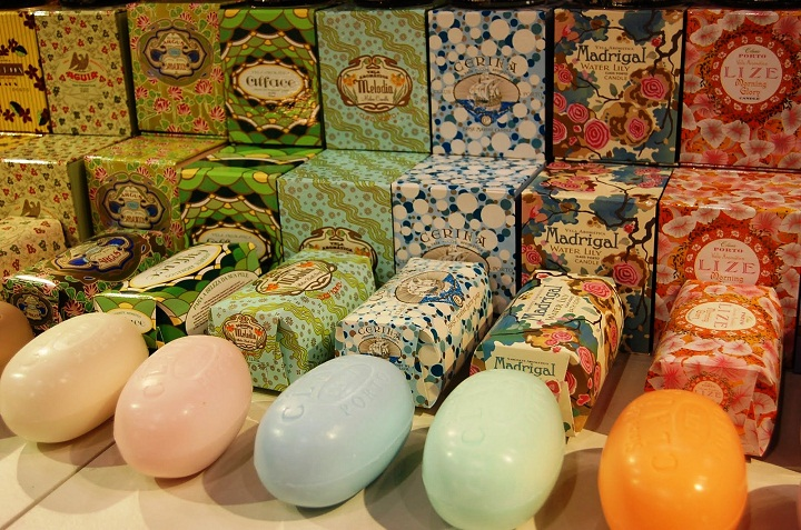 claus porto soap ach brito, decorative luxury soap