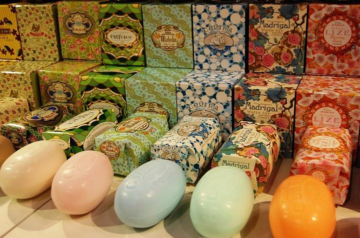 claus porto soap ach brito, decorative luxury soap