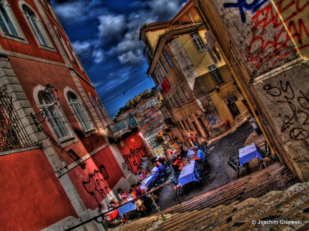 bairro alto lisbon portugal gisewski