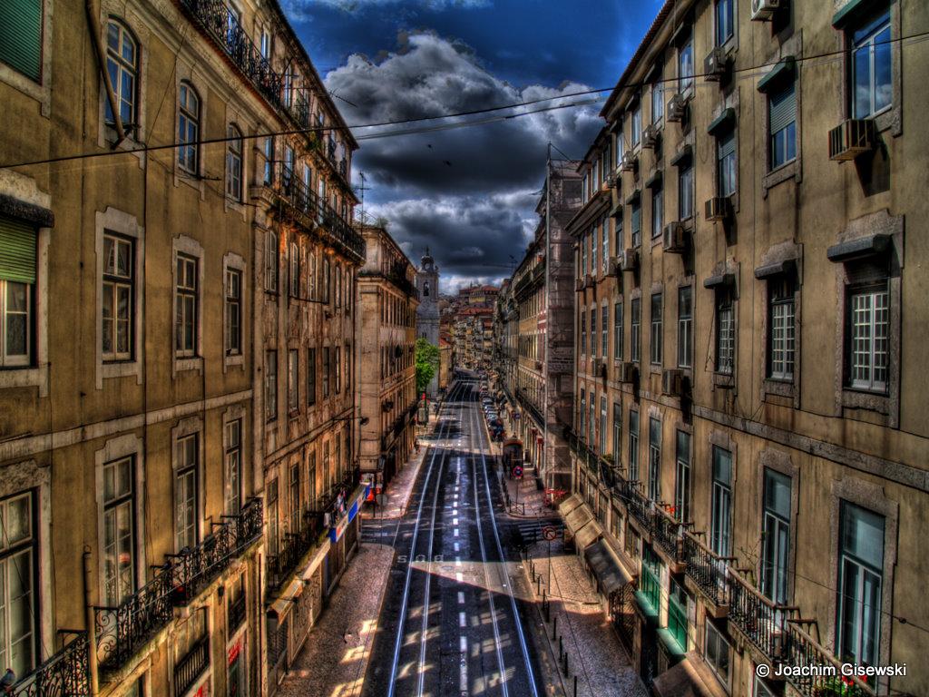 gisewski lisbon street scene