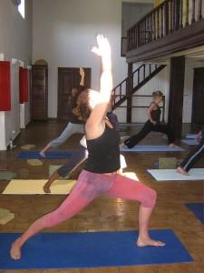 Quinta Mimos loule yoga class