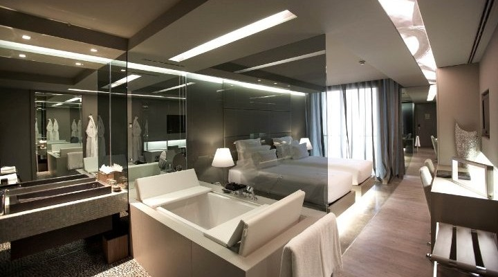 modern contemprorary hotel room boutique