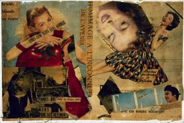 wolman collage scotch art immortal