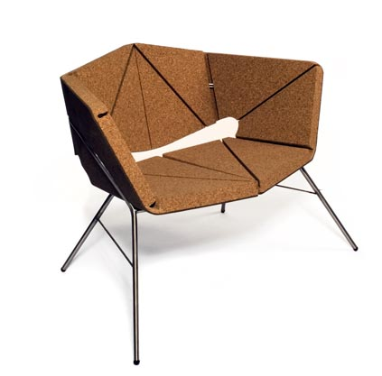 vinco chair cork design toni grilo
