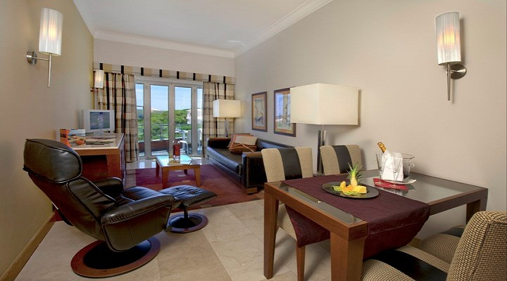 Living room suite, praia verde, algarve beach resort,