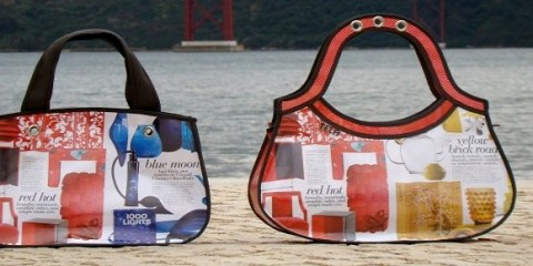 Tela Bags, recycled products, eco-friendly fashion