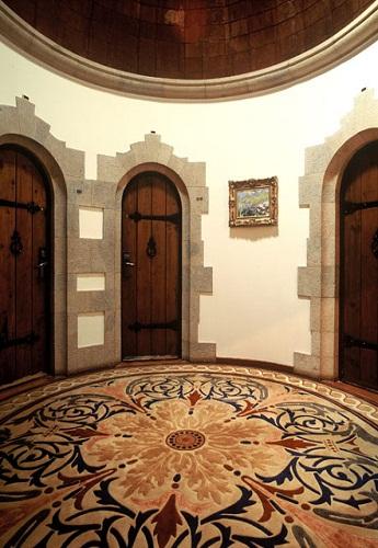 entrance to junior suites fortaleza guincho