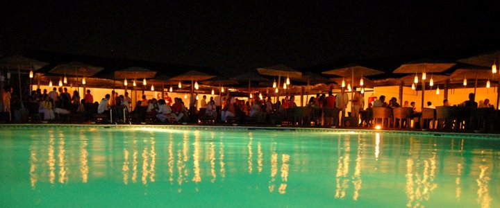 trendy pool bar lounge lagos algarve portugal