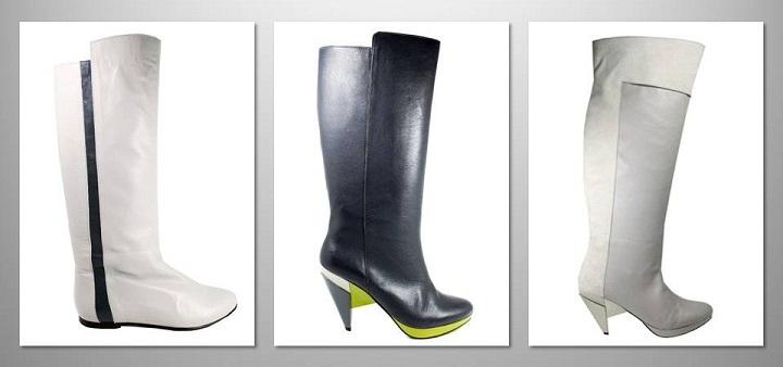 guava knee boots Ines Caleiro