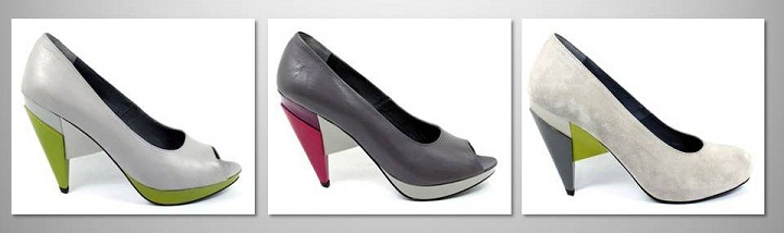 guava peep toe shoes Ines Caleiro