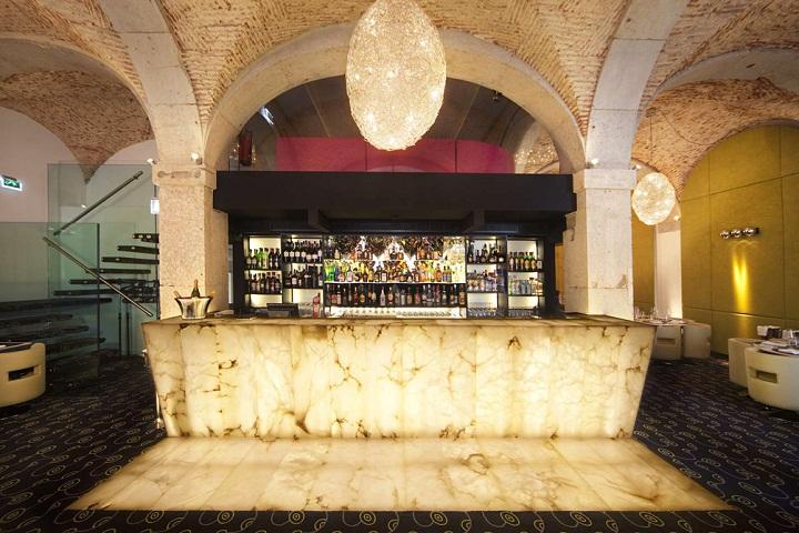 largo trendy bar restaurant in chiado lisbon lisboa portugal