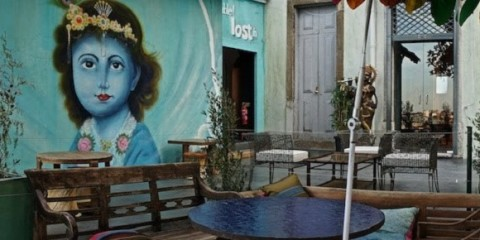 lost in espanada bar principe real lisbon terrace