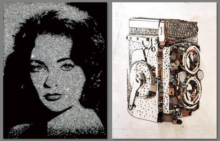 Elizabeth Taylor rolleiflex vik muniz