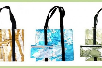 tote bags purses shower curtains, eco-friendly products, fernanda pereira