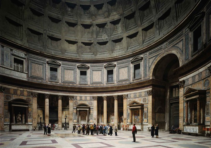 thomas struth panthron rome serralves museu