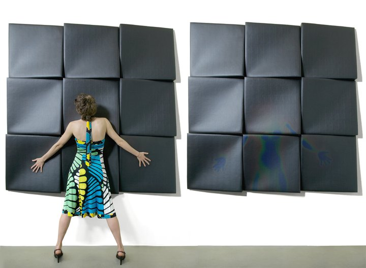 touch wall panels, thermosensitive wall art sculpture, nunoerin