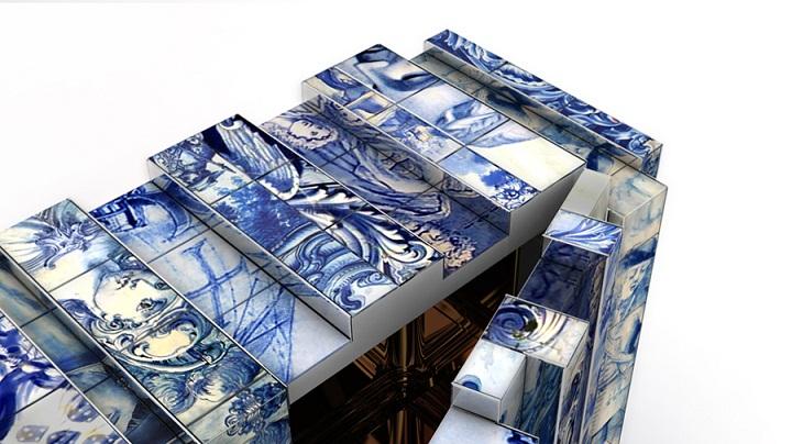 boca do lobo heritage sideboard azulejos tile