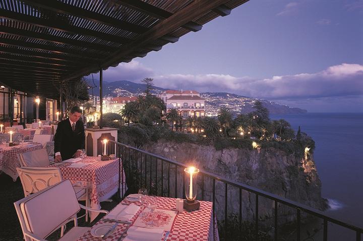 Reids Palace Villa Cipriani terrace
