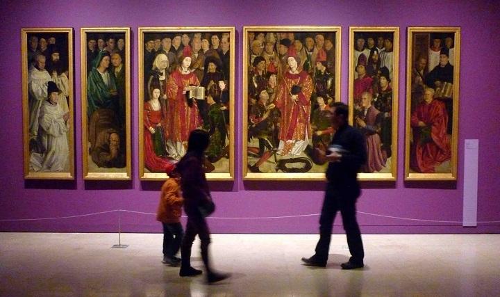 saint vincent panels at museu nacional arte antiga