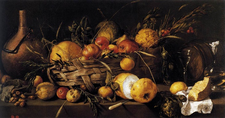 Still Life with Fruit - Antonio de PEREDA - 1650