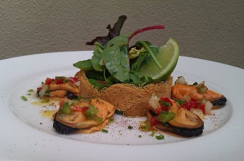 marinated mussels cafeina