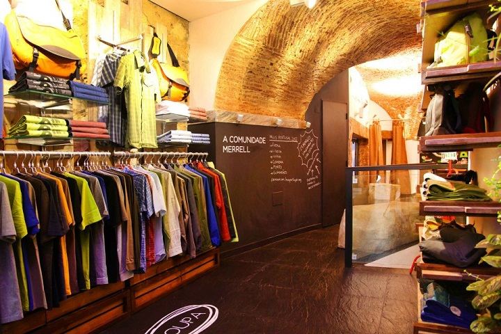 merrell flagship store lisboa lisbon portugal