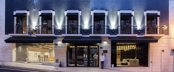 9hotel mercy lisbon boutique hotel in chiado portugal for Best design boutique hotels lisbon