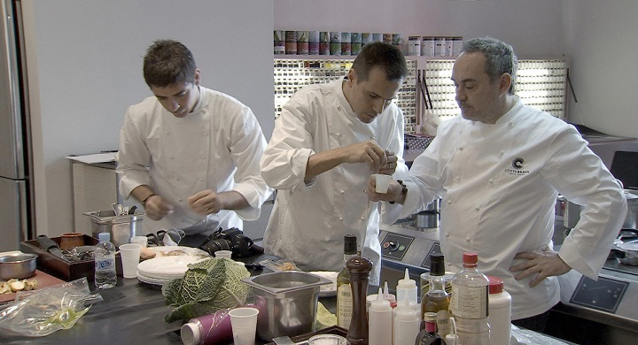 El Bulli Cooking in Progress, douro film harvest