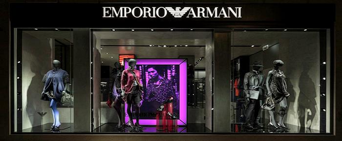 Emporio Armani Lisbon On Avenida Da Liberdade Portugal