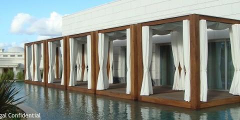 Massage Cabanas Conrad Algarve, Portugal luxury hotel resort, quinta do lago,