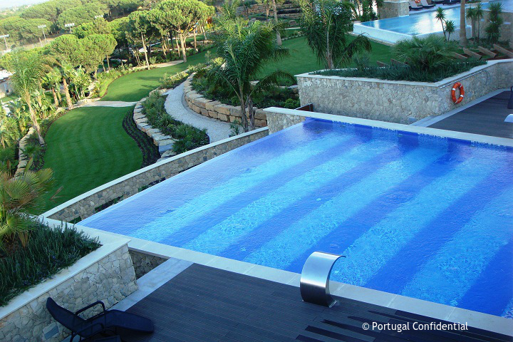 Spa Pool Conrad Algarve, Portugal luxury hotel resort, quinta do lago,