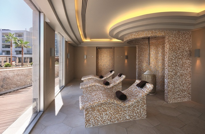 fire ice saunas hammam Conrad Algarve, Portugal luxury hotel resort, quinta do lago,