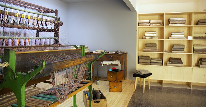 burel shop chiado interior automatic loom