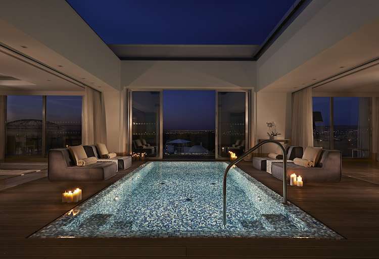 Conrad Algarve Roof Garden luxury suite,
