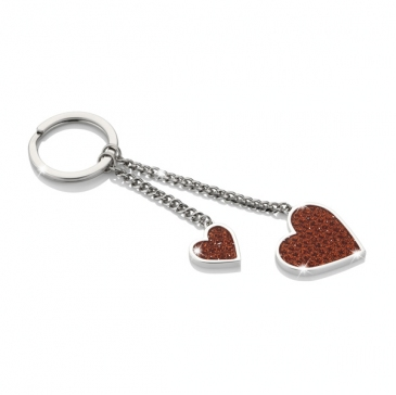 EGK-4008 - Red Heart Key Ring