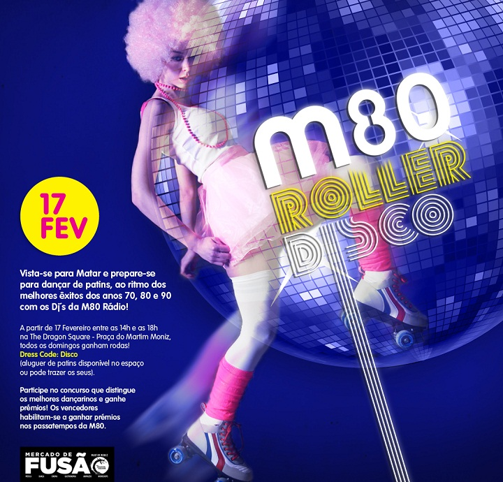 M80 Roller Disco Mercado de Fusao