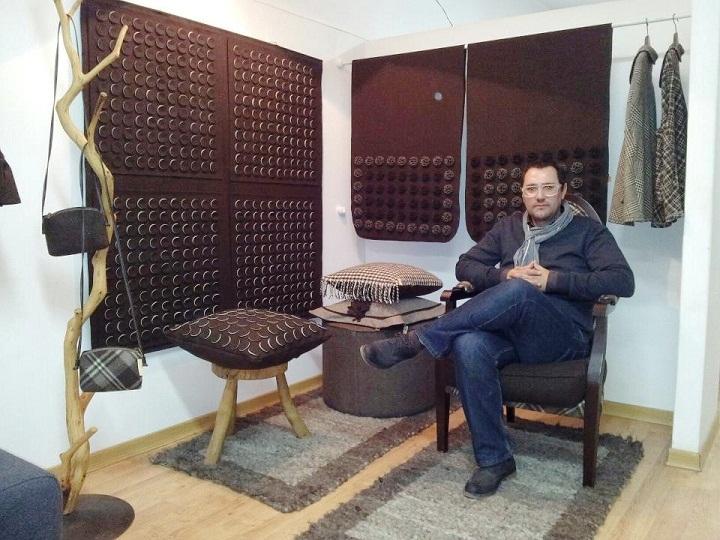 miguel gigante showroom, cool natura atelier de burel covilha portugal