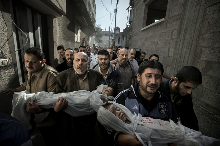 Gaza Burial - Paul Hansen