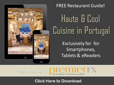 free portugal restaurant guide, hip cool trendy restaurants lisbon porto algarve portugal