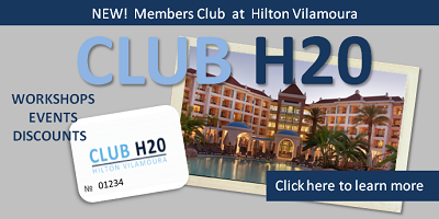 hilton vilamoura residents club, h20 club vilamoura, classes workshops spa vilamoura