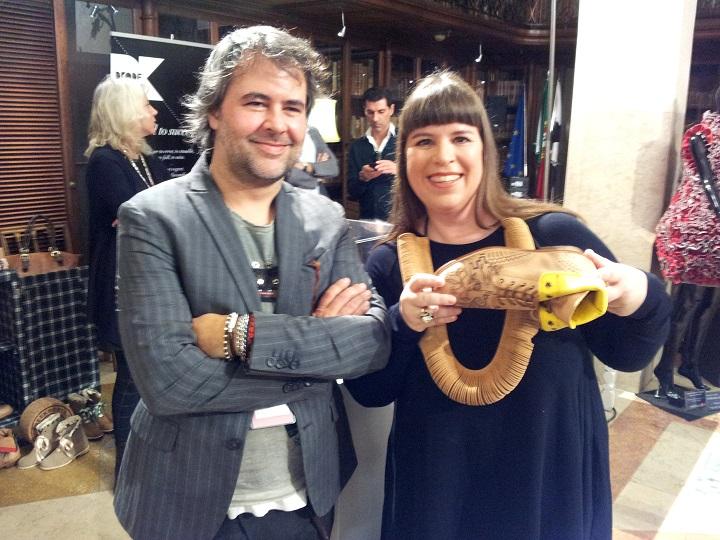 Joana Vasconcelos Green Boots, Joana Vasconcelos, Pedro Olaio