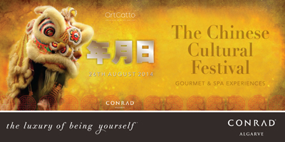 conrad algarve, chinese culture art festival,