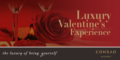 conrad algarve, luxury hotel valentines algarve portugal,