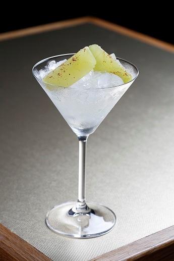 José Avillez Mini Bar, chewable cocktail,